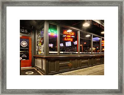 Slice Of Life In Wilmington North Carolina Framed Print by Greg Mimbs