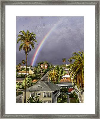 Slice Of Paradise Framed Print
