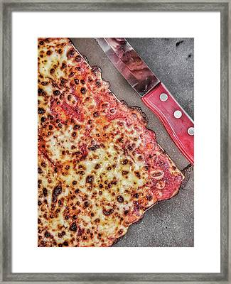 Slice Of Pizza Framed Print