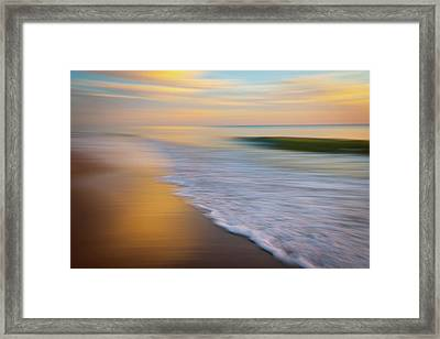 Sliced Framed Print