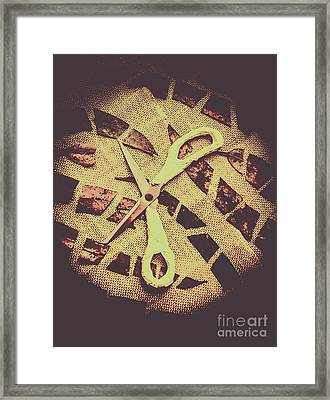 Slices Of Autumn Framed Print