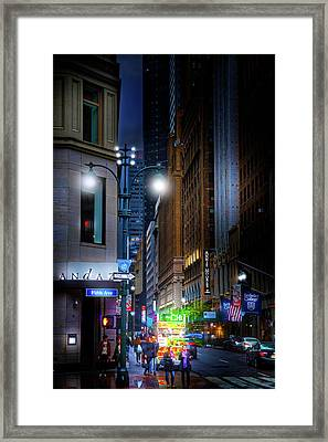 Slick City Framed Print by Mark Andrew Thomas