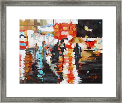Slick Framed Print by Molly Wright