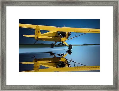 Slick Take Off Framed Print by Curtis Chapline