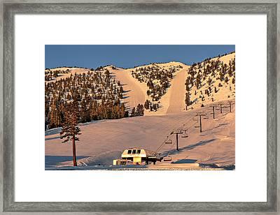 Slide Mountain Framed Print