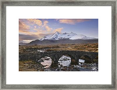 Sligachan Bridge Framed Print by Rod McLean