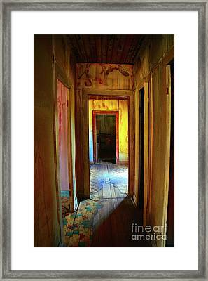 Slightly Askew Framed Print by Lauren Leigh Hunter Fine Art Photography
