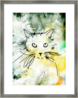 Slim Framed Print by Ann Powell