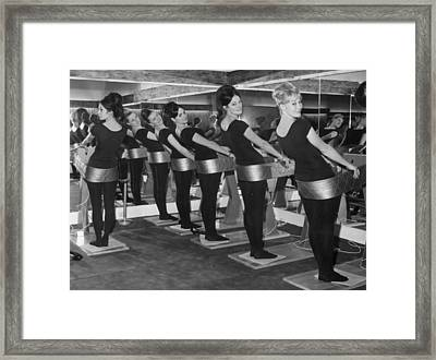 Slim Hips Framed Print by Keystone