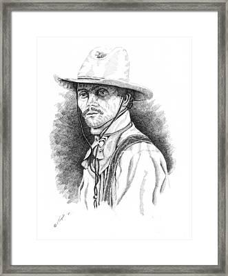 Slim Framed Print by Lawrence Tripoli