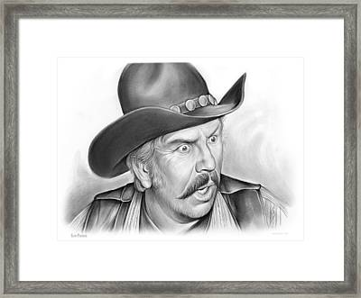 Slim Pickens Framed Print