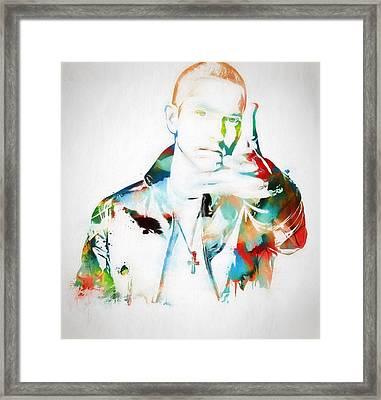 Slim Shady Framed Print