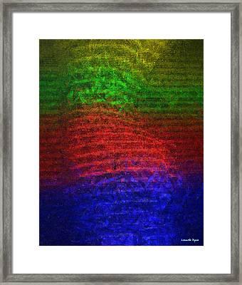 Slim Silhouette - Pa Framed Print