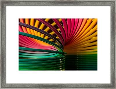Slinky IIi Framed Print