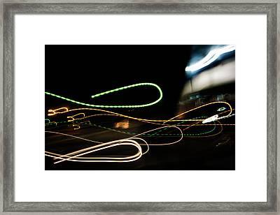 Slip Knot Framed Print