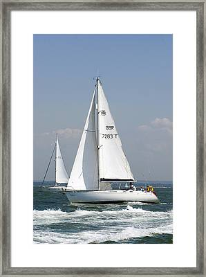Slipaway Framed Print by Gerry Walden