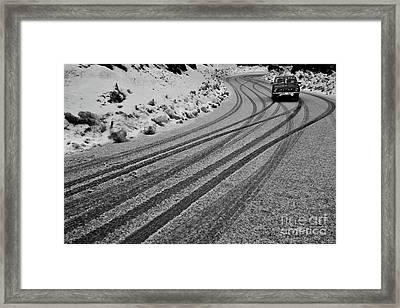 Hello Winters Framed Print