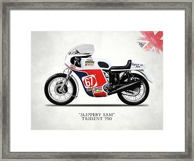 Slippery Sam Production Racer Framed Print