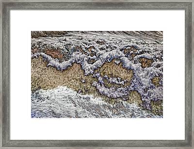 Slippery When Wet Framed Print