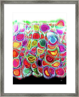Slipping And Sliding Framed Print