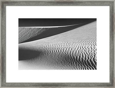 Slipping Through My Fingers Framed Print by Laurie Search