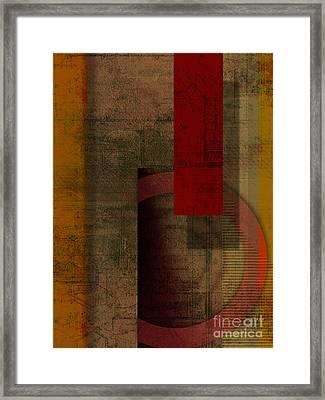Slit Framed Print