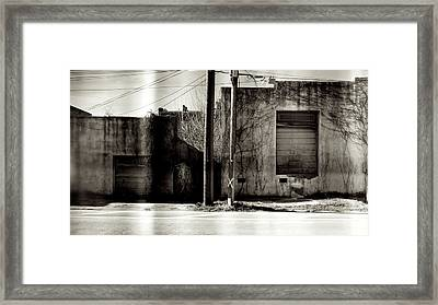 Slit Scan 1 Framed Print