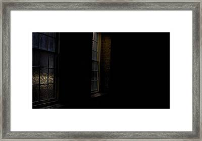 Slit Scan 4 Framed Print