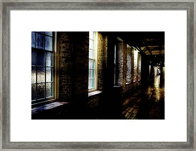 Slit Scan 5 Framed Print