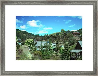 Sliver City Framed Print