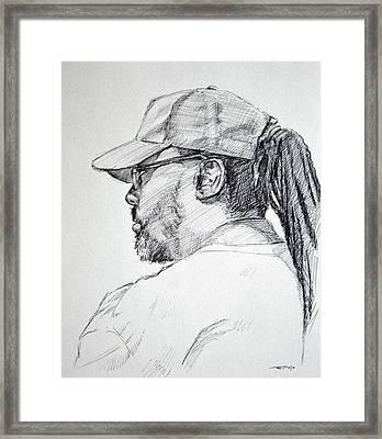 Slo Framed Print by Christopher Reid