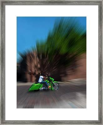 Slo Cruz Framed Print