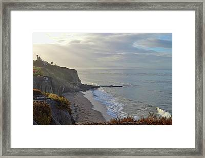 Slo Views Framed Print by JAMART Photography