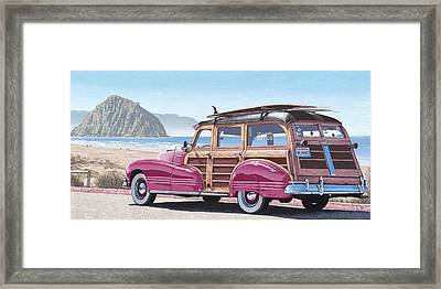 Slo Wood Framed Print by Andrew Palmer