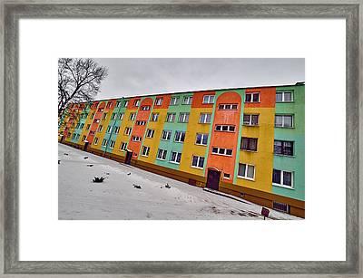 Slope Framed Print