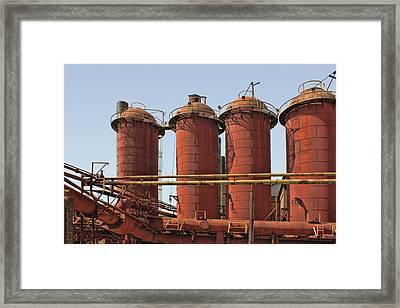 Sloss Furnaces - 4 - Birmingham Framed Print