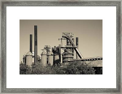 Sloss Furnaces National Historic Framed Print by Panoramic Images