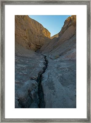Slot Canyon Within Slot Canyon Framed Print