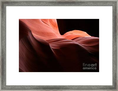Slot Waves Framed Print by Carl Jackson