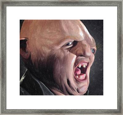 Sloth Framed Print by Taylan Apukovska