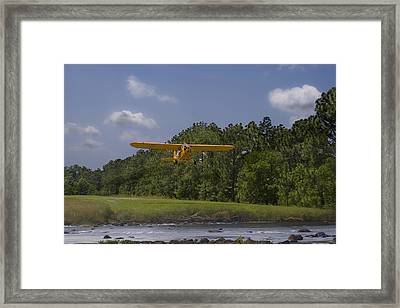 Slow And Low Framed Print by Steven Richardson