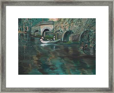 Slow Boat - Lmj Framed Print