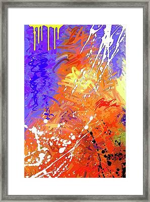 Slow Burn Framed Print by Snake Jagger