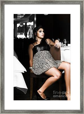 Slow Business Framed Print by Jorgo Photography - Wall Art Gallery
