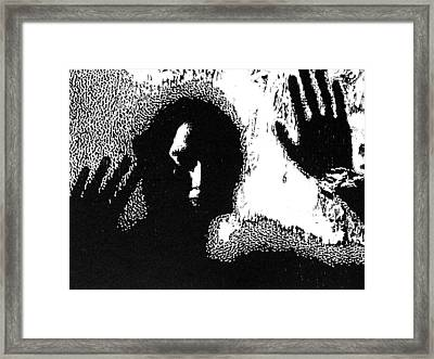Slow Death -- Unframed Hand-pulled  Wood Cut Framed Print by Lynn Evenson