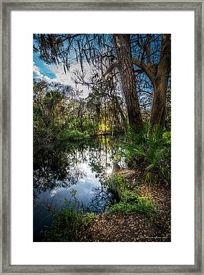 Slow Drift Framed Print by Marvin Spates