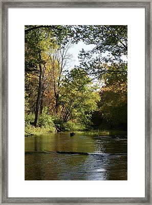 Slow Go Mackinaw Framed Print