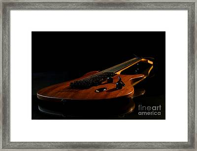 Framed Print featuring the photograph Slow-hand-guitar by Franziskus Pfleghart
