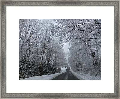 Slow Travel Framed Print