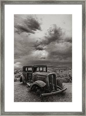 Slower Times Framed Print